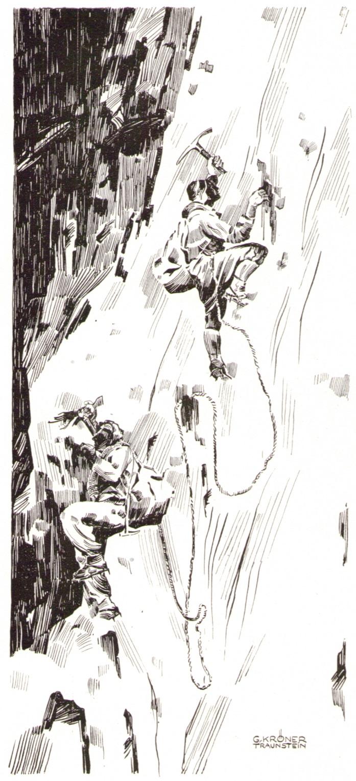 Gustav Kroener - Nordwand Grands Charmozp.jpg