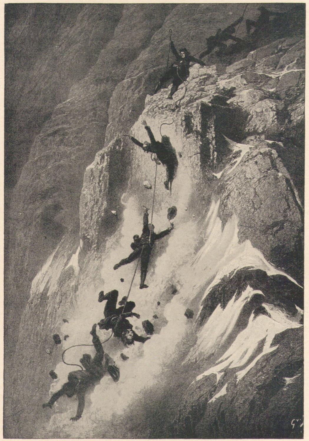 Gustave Dore - Die Katastrophe am Matterhorn am 14 Juli 1865p.jpg