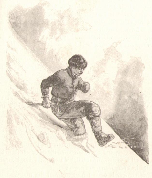 Henry George Willink - A plunger_Abstieg am weichen Schneehangp.jpg