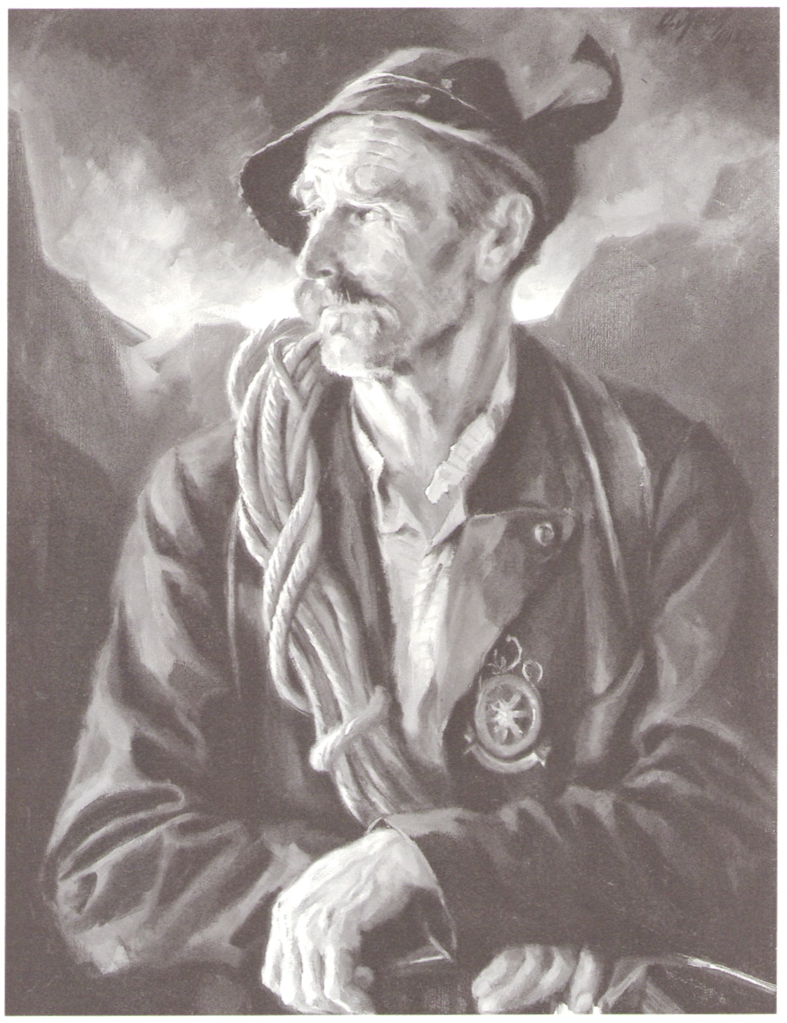 Otto Keck - Bergfuehrer 1927paint.jpg