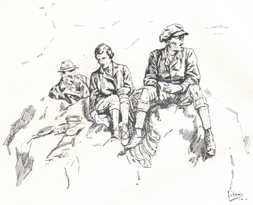 Thea von Wurmb - Gipfelrast 1926p.jpg