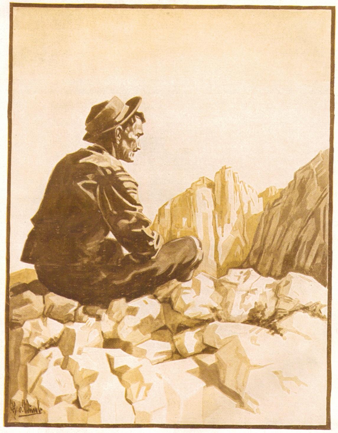 Thea von Wurmb - Gipfelrast auf der Kleinen Halt 1926p.jpg