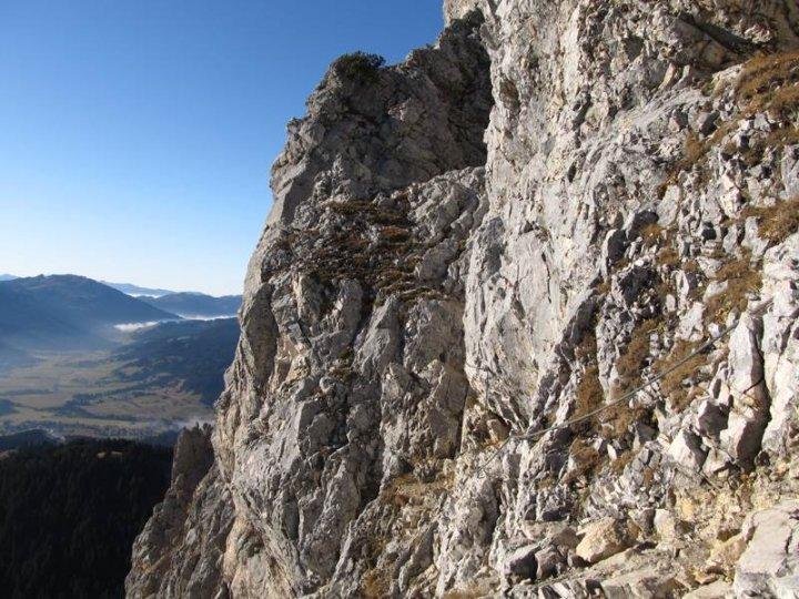Friedberger Klettersteig : Mittelschwere bergtour von nesselwängle auf den gimpel 2.173 m